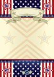 Tema americano Fotografia Stock