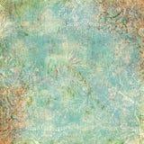 Tema antiguo floral del fondo de la vendimia Imagen de archivo