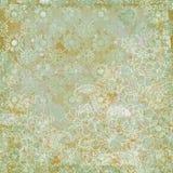 Tema antiguo floral del fondo de la vendimia Imagen de archivo libre de regalías