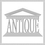 Tema antiguo, gris Imágenes de archivo libres de regalías