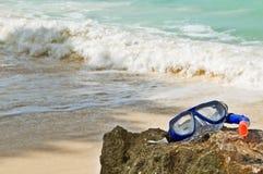 Tema astratto della spiaggia di estate fotografia stock