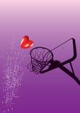 Tema astratto di amore - vettore di ENV Fotografie Stock