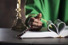 Tema cattolico di religione Immagini Stock Libere da Diritti