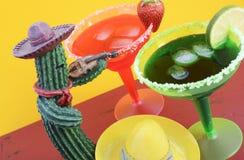Tema colorido feliz del partido de Cinco de Mayo fotografía de archivo libre de regalías
