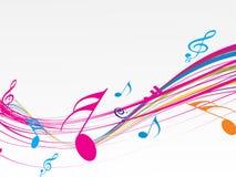 Tema da música Fotografia de Stock