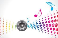Tema da música Imagem de Stock
