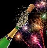 Tema de Champagne foto de stock royalty free