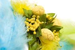 Tema de Easter foto de stock