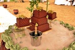 Tema de la boda Imagen de archivo libre de regalías