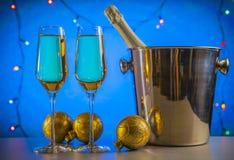 Tema de la celebración Vino de Champán Imagenes de archivo