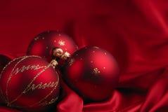 Tema de la decoración de la Navidad imagenes de archivo