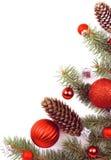 Tema de la decoración de la Navidad Fotos de archivo libres de regalías