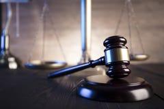 Tema de la ley y de la justicia fotografía de archivo libre de regalías