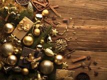 Tema de la Navidad Fotografía de archivo libre de regalías