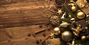 Tema de la Navidad Fotografía de archivo