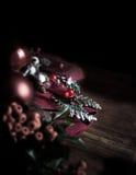 Tema de la Navidad Foto de archivo