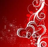 Tema de la tarjeta del día de San Valentín Imagenes de archivo