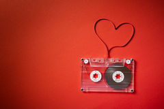 Tema de la tarjeta del día de San Valentín Imagen de archivo