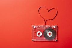 Tema de la tarjeta del día de San Valentín Foto de archivo libre de regalías