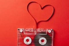 Tema de la tarjeta del día de San Valentín Fotografía de archivo