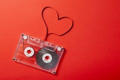 Tema de la tarjeta del día de San Valentín Fotos de archivo