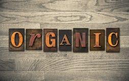 Tema de madera orgánico de la prensa de copiar fotos de archivo
