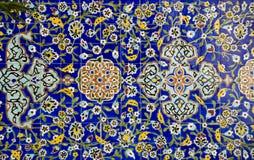 Tema de Mosaiq do árabe Foto de Stock