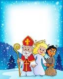 Tema 3 de Nicholas Day de Saint ilustração stock