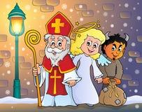 Tema 5 de Nicholas Day de Saint ilustração royalty free