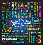 Tema de Real Estate Imagem de Stock Royalty Free