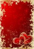 Tema del biglietto di S. Valentino Immagini Stock Libere da Diritti