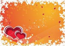 Tema del biglietto di S. Valentino royalty illustrazione gratis