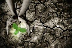 Tema del calentamiento del planeta Imágenes de archivo libres de regalías