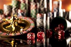 Tema del casino Imagen de archivo
