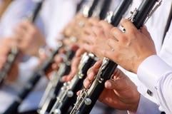 Tema del Clarinet Imagenes de archivo