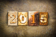 Tema 2015 del cuero de la prensa de copiar del concepto Fotografía de archivo