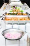 Tema del desayuno de la comida fría Imagen de archivo libre de regalías