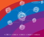 Tema del diseño del Web page Fotos de archivo libres de regalías