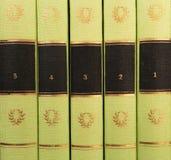 Tema del fondo de los libros viejos fotos de archivo