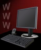 Tema del Internet royalty illustrazione gratis
