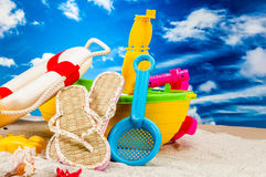 Tema del mar y de la playa Fotos de archivo libres de regalías
