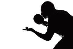 Tema del ping-pong Imágenes de archivo libres de regalías