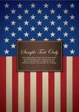 Tema dell'America Fotografie Stock Libere da Diritti