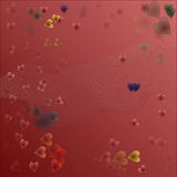 Tema di amore Fotografie Stock