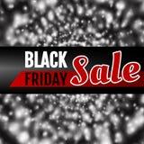 Tema di Black Friday Fotografia Stock