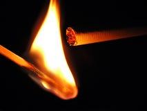 Tema di fumo Fotografia Stock