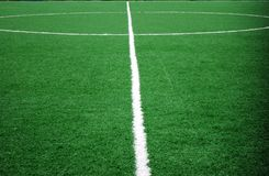 Tema di gioco del calcio o di calcio Fotografia Stock