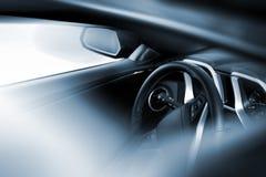 Tema di guida di veicoli Immagini Stock