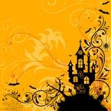 Tema di Halloween Fotografia Stock Libera da Diritti
