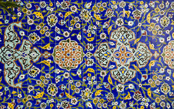 Tema di Mosaiq dell'arabo fotografia stock